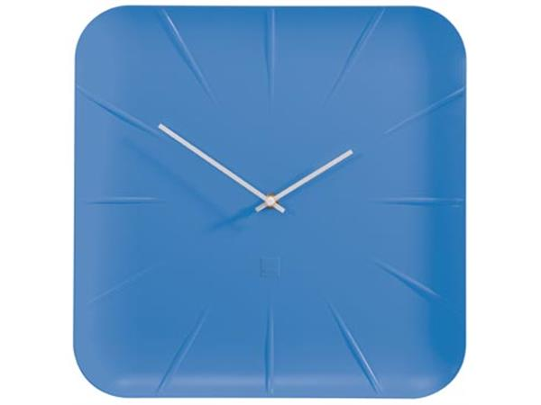 Sigel wandklok Inu. ft 35 x 35 x 4.5 cm. blauw