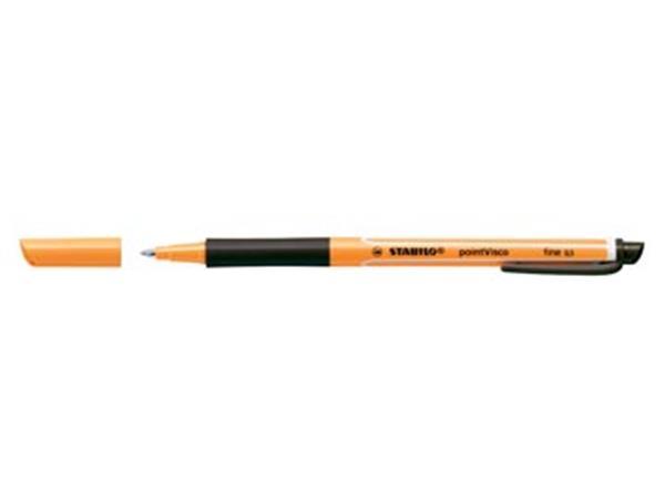 STABILO pointVisco roller, 0,5 mm, zwart