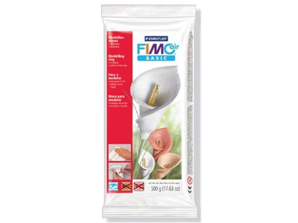 Staedtler Boetseerklei Fimo Air wit. pak van 500 g
