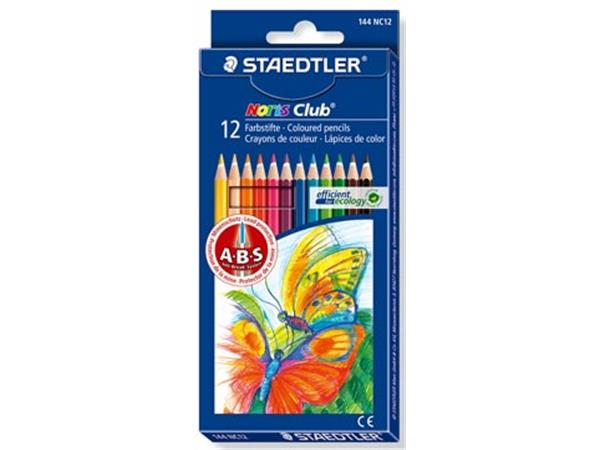 Staedtler kleurpotlood Noris Club 12 potloden in e