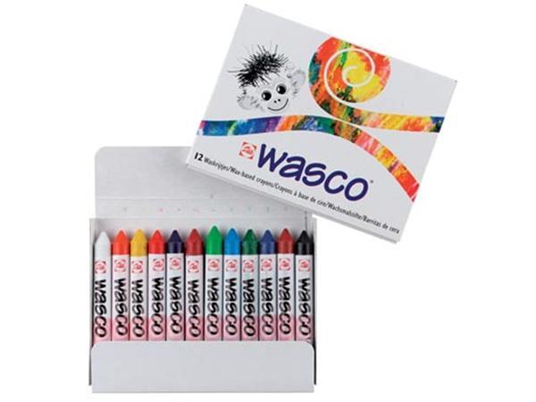 Talens waskrijt Wasco. doos met 12 stuks