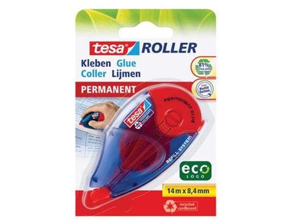 Tesa Roller navulbare lijmroller permanent ecoLogo