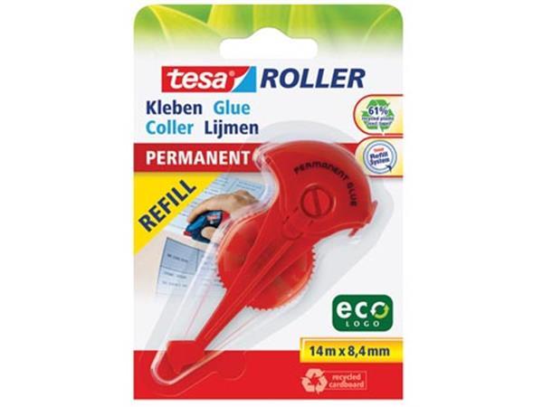 Tesa Roller navulling lijmroller permanent ecoLogo