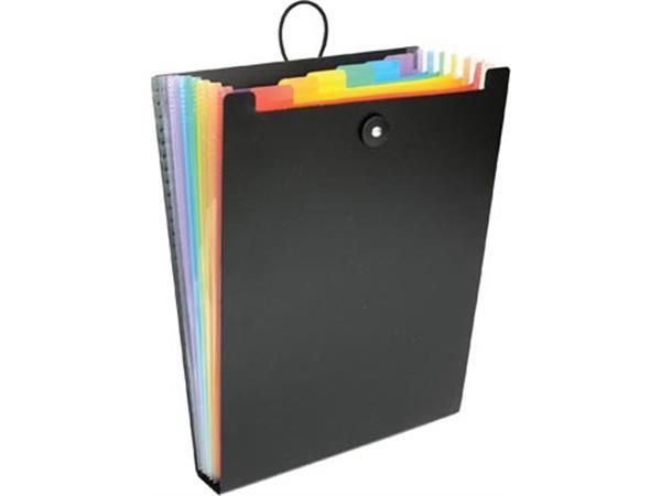 Viquel Rainbow Class voorordner, staand model met 6 vakken