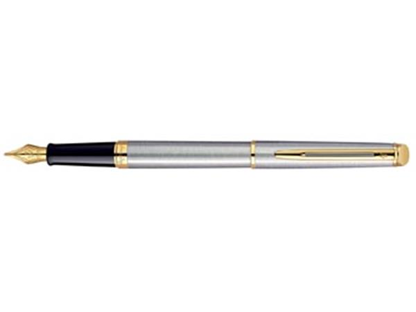 Waterman Collectie Hemisphère vulpen medium, Steel GT