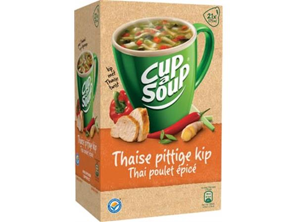 Cup-a-Soup thai spicy chicken, pak van 21 zakjes