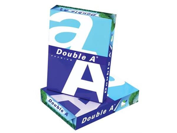 Double A Premium printpapier ft A4, 80 g, pak van 500 vel