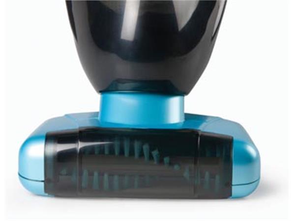 Domo kruimeldief met oplaadbare batterij, 14,4 V, blauw