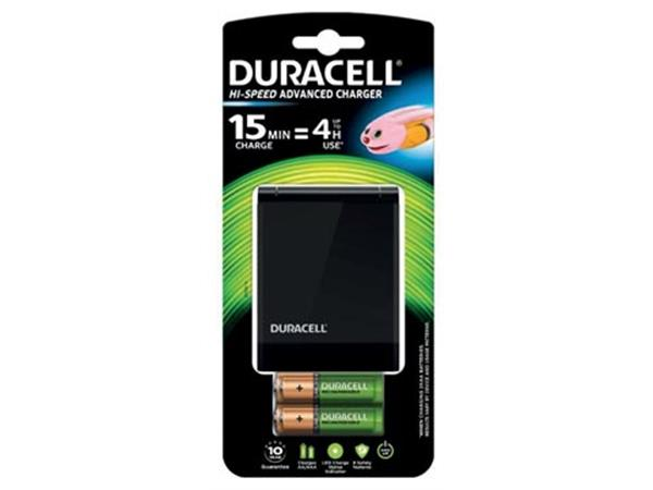 Duracell batterijlader Hi-Speed Advanced Charger.