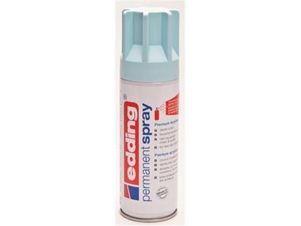 Edding permanent spray 5200. 200 ml. pastelblauw m