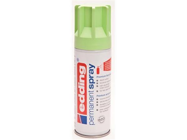 Edding Permanent Spray 5200. 200 ml. pastelgroen m