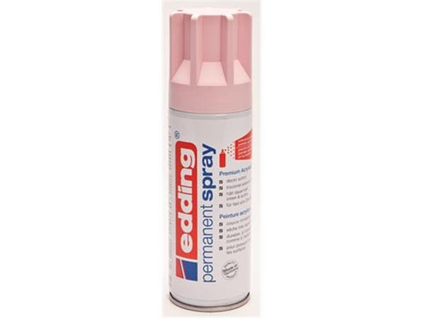 Edding Permanent Spray 5200. 200 ml. pastelroze ma