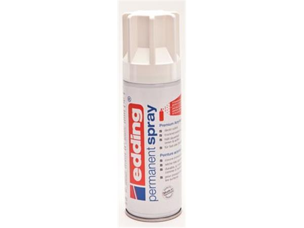 Edding permanent spray 5200. 200 ml. verkeerswit g