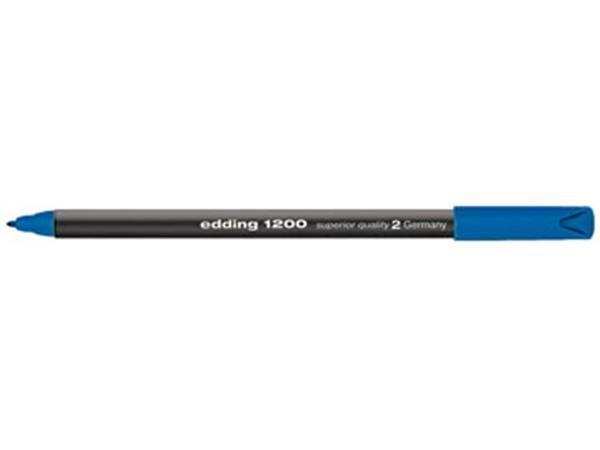 Edding viltstift e-1200 blauw