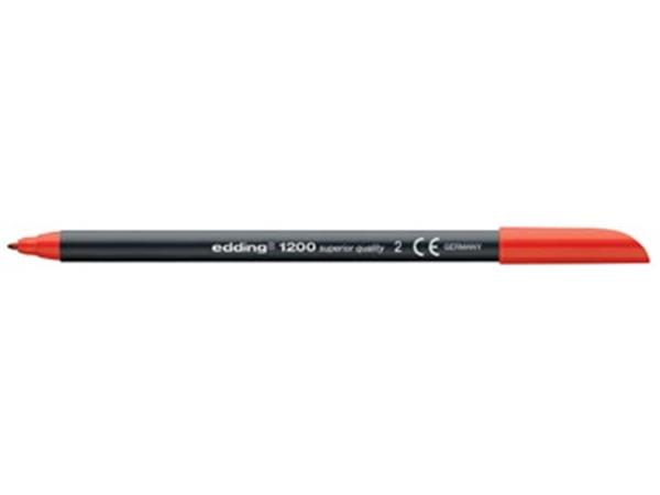 Edding viltstift e-1200 rood