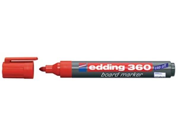 edding whiteboardmarker 360 rood