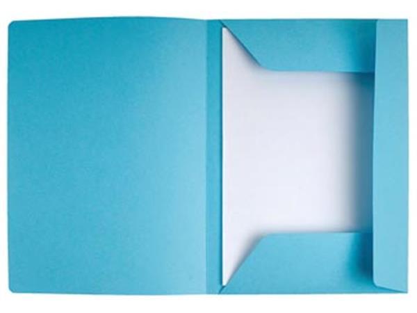 a97030e583e Exacompta dossiermap Super 210, met 3 kleppen, lichtblauw