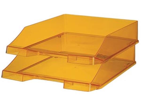 Han brievenbakje C4 transparant oranje