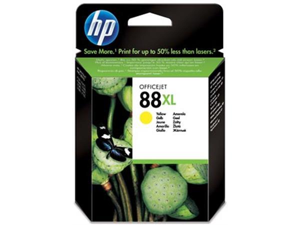 HP inktcartridge 88XL, 1540 pagina's, OEM C9393AE, geel