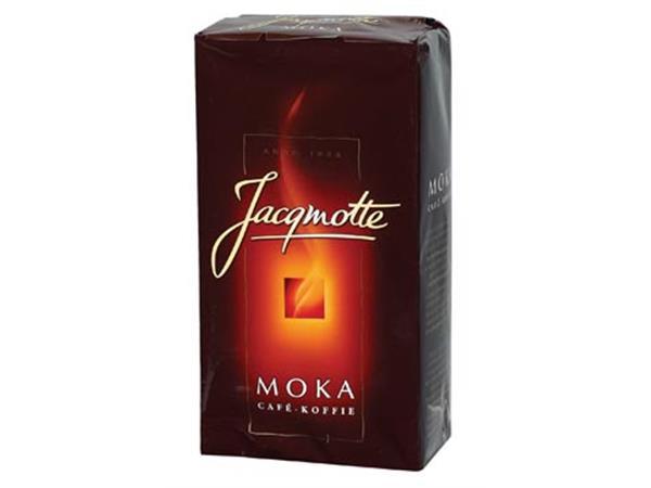 Jacqmotte koffie, moka, pak van 500 gram