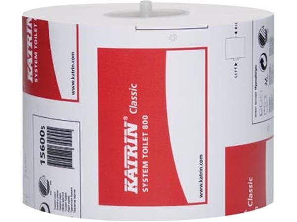 Katrin toiletpapier voor dispensers Classic. 2-laa