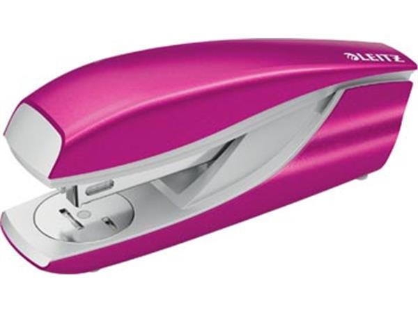 Leitz NeXXt WOW 5502 nietmachine. roze metallic. o