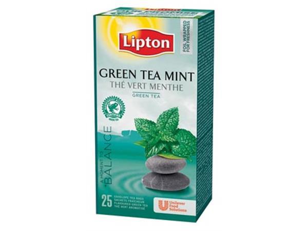 Lipton thee, Green Tea Mint, pak van 25 zakjes