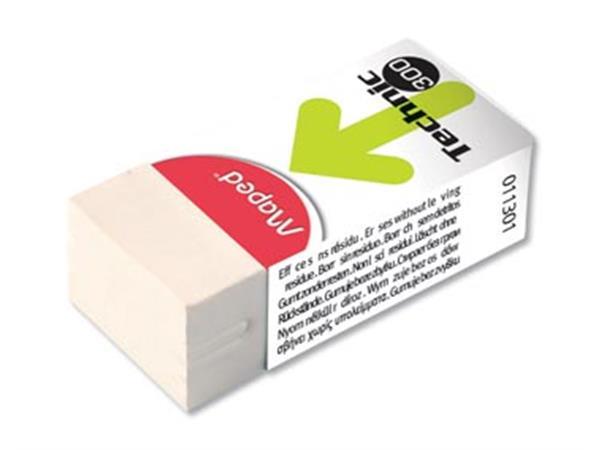 8d9a3b12a0a Maped gum Technic 300 in kartonnen beschermetui en verpakt onder cellofaan,  doos van 36 stuks