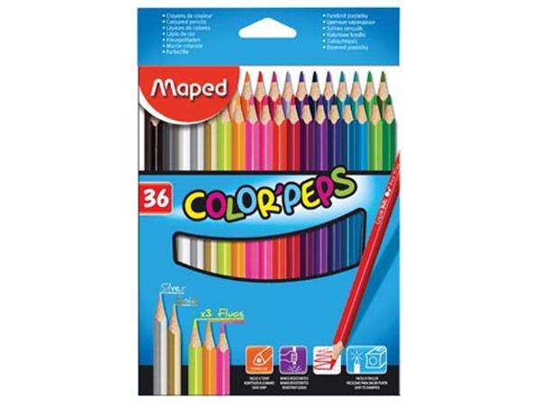 Maped kleurpotlood Color'Peps 36 potloden