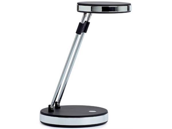 Maul bureaulamp MAULpuck. LED-lamp. zwart