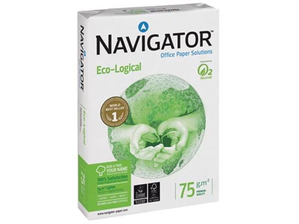 Navigator Eco-Logical printpapier ft A4, 75 g, pak van 500 vel