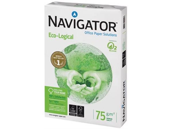Navigator Eco-Logical printpapier ft A3. 75 g. pak