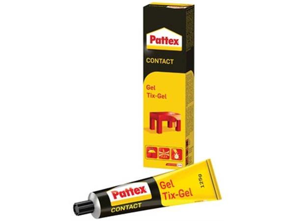 Pattex contactlijm Tix-Gel. tube van 125 g. op bli