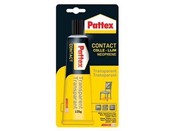 Pattex contactlijm Transparant. tube van 125 g. op