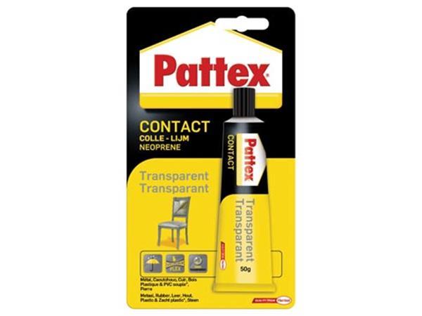 Pattex contactlijm Transparant. tube van 50 g. op