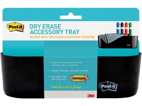 Post-it accessoirebakje zwart