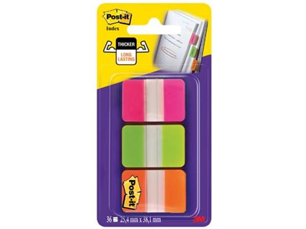 Post-it Index Strong. . ft 25.4 x 38 mm. blister m