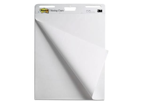 Post-it meeting chart. ft 63.5 x 77.5 cm. blanco.
