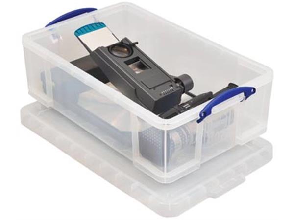 Really Useful Box 50 liter, transparant