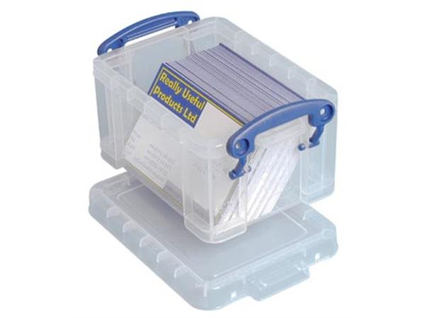 Really Useful Box visitekaarthouder 0.3 liter. tra