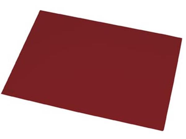 Rillstab onderlegger ft 40 x 53 cm. bordeaux