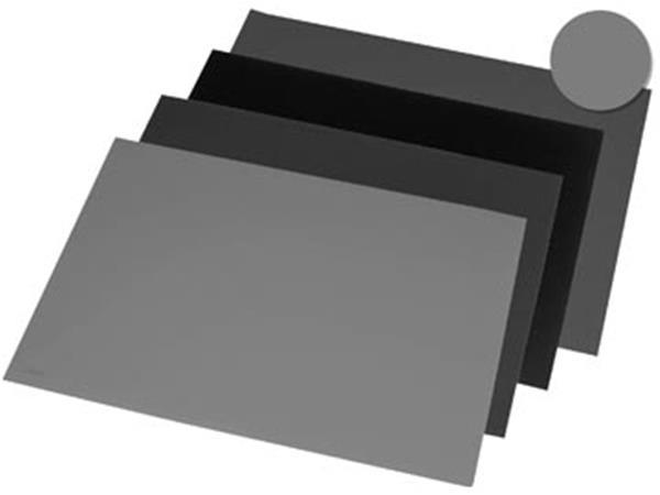Rillstab onderlegger ft 40 x 53 cm. grijs