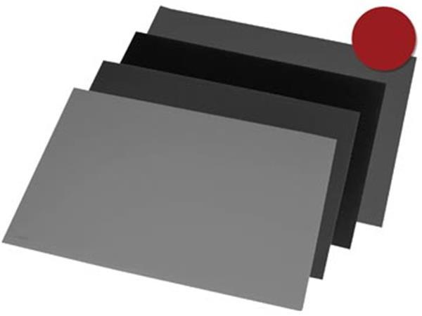 Rillstab onderlegger ft 52 x 65 cm. zwart