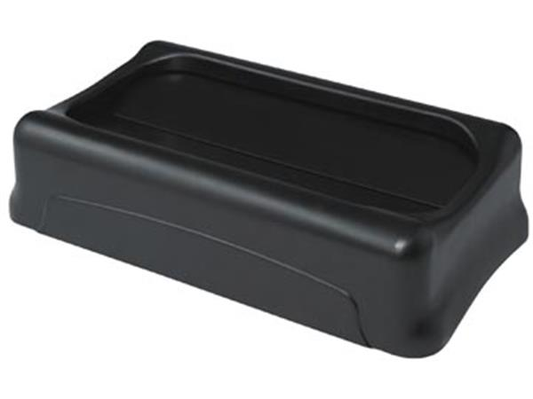 Rubbermaid deksel voor afvalcontainer Slim Jim. tu