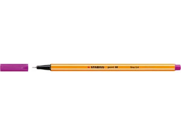 Stabilo fineliner Point 88 lila