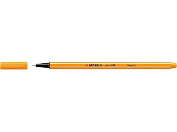 Stabilo fineliner Point 88 oranje