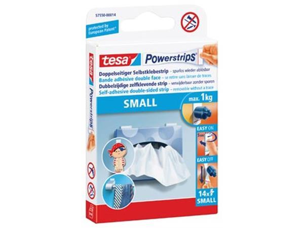 tesa Powerstrips SMALL. draagkracht 1 kg. blister