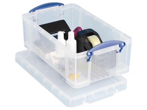 Really Useful Box 5 liter, transparant