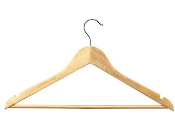 Unilux kledinghanger. uit hout. pak van 25 stuks