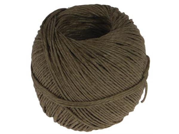 dadf1194f04 Vlaskoord touw uit 2 draden, bol van 100 g, +/- 90 m